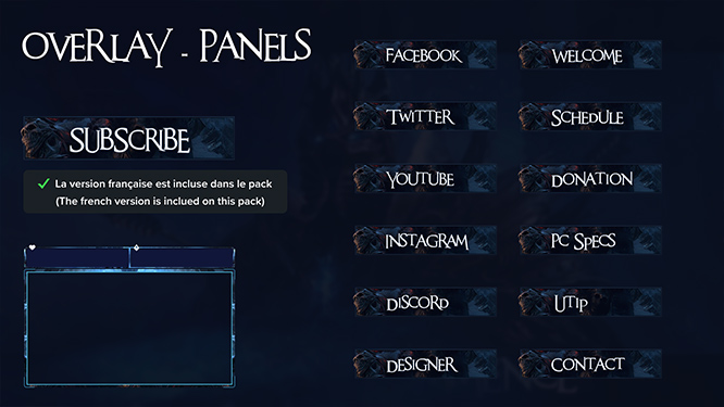 Overlay and Panels